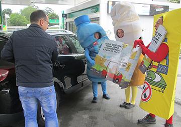 suma educação sensibilização ambiental mascotes